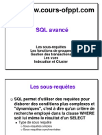 Cours Complet Sgbd SQL Avance