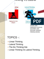 Linear Thinking vs Lateral Thinking (1)