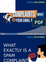 How Complaints Impact Your Email Reputation