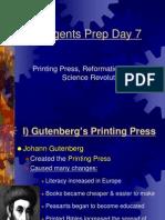 Regents Prep Day 7 Reformation and Science Revolution (2)