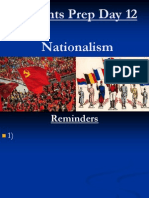 Regents Prep Day 12 Nationalism