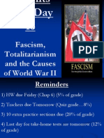 Regents Prep Day 16 Fascism Totalitarianism and the Causes of World War 2 (1)