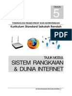 Bahan Sokongan Modul PdP Sistem Rangkaian Dan Dunia Internet Bhg 1