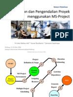 001 Perencanaan Dan Pengendalian Proyek