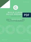 Build Clean Build Organic