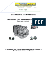 Sincronizacion Motor Platina