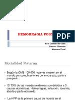 1. Hemorragia en El Embarazo - Dr. Luis Casta%f1eda Cuba
