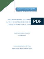 Estudio Sobre El Estado Límite a Fatiga en Estructuras de Hormigón Con Deterioro de Las Armaduras