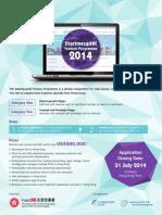 StartmeupHK Venture Programme 2014 Competition Details