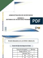 Administracion de Inventarios Tutoria u2