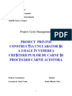 Proiect constructie abator+3 hale