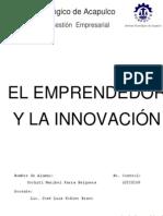 El Emprendedor y La Innovación