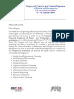 CCCE BiH - First Announcement