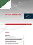 The Value of Social Data