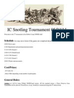 May Tournament Rules