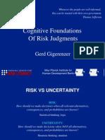 gigerenzer_CognitiveFoundationsOfRiskJudgm