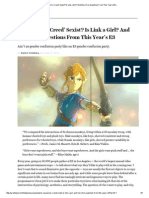 Is 'Assassin's Creed' Sexist_ is Link a Girl_ and More Fun Questions From This Year's E3