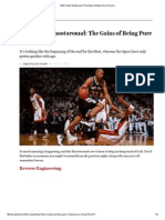 NBA Finals Shootaround_ the Gains of Being Pure at Heart