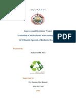Medical Waste Management