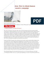 Dengue Prevention How to Obtain Human Resourcesfor a Massive Campaign