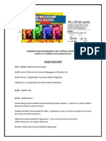 Programa Final Jornadas Walter Benjamin