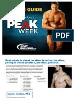 Peak Week Powerlifting
