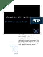 IAM White Paper IDentifyME