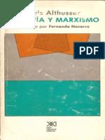 Althusser Louis Filosofia y Marxismo