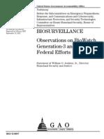 biosurveillance 4