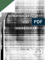 Low Intensity Conflict Status Report 1992 SOLIC 1992.pdf