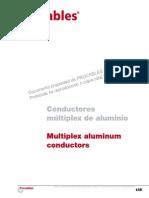 Catalogo-conductores Multiplex de Aluminio