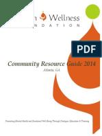 MWF Community Resource Guide - Atlanta -2014