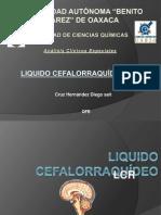 Liquido Cefalorraquideo. LCR