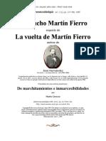 Jose Hernandez Martin Fierro Ida y Vuelta