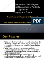Europeanisation and the Variegated Socio-Political Economies of Austerity