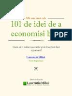 101 Idei de a Economisi Bani eBook Gratuit