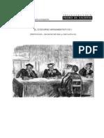 Argumentación - definición, estructura