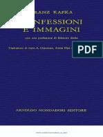 Franz Kafka-Confessioni e Immagini-Mondadori (1960)