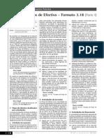 Estado de Flujos de Efectivo - Formato 3.18 (Parte I)