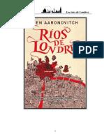 Aaronovitch, Ben - Los Rios de Londres