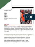 Division Salud Ocupacional Lineas de Vida Vertical 3M