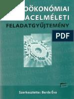 Mikroökönómiai És Piacelméleti Feladatgyűjtemény