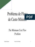 Fluxo Custo Minimo