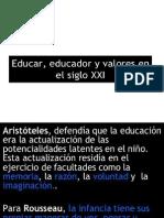 Educando, Educador Siglo Xxi