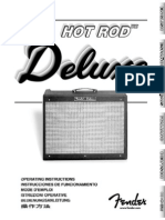 Hot Rod Deluxe Manual