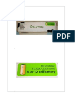 Baterias Gateway