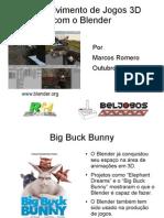 Jogos3d com Blender