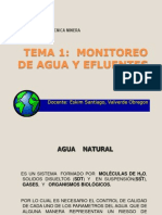 Monitoreo de Aguas - 1era Clase