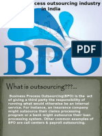 Business Process Outsourcing Industry in India