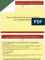 Dones, Ministerios y Operaciones (1)